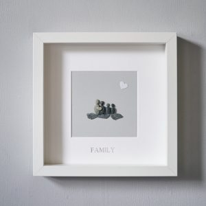 Picture Frames, pebble pictures and hanging signs